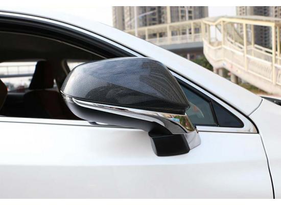 Карбоновые накладки на зеркала для Lexus RX 4 2015-н.в. (фото)