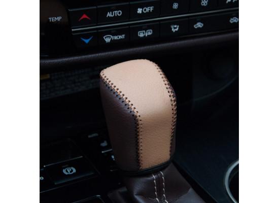 Накидки на подлокотник и ручку КПП для Lexus RX 4 2015-н.в. (фото)