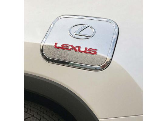 Накладка на крышку бензобака для Lexus RX 4 2015-н.в. (фото)