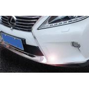 Накладки на передний бампер для Lexus RX 3 2012-2015