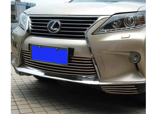Нижние решетки в бампер для Lexus RX 3 2012-2015