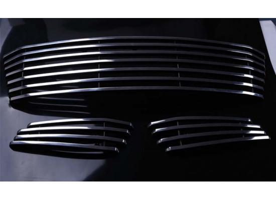 Нижние решетки в бампер для Lexus RX 3 2012-2015 (фото)