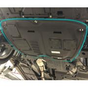 Пластиковая защита двигателя для Lexus RX 4 2015-н.в. RX200T/300 и RX450H