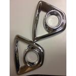 Хромированные накладки на передние противотуманные фары для Mazda CX-5 2011-2014
