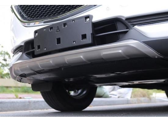 Накладки на оба бампера для Mazda CX-5 2017-н.в. (фото)