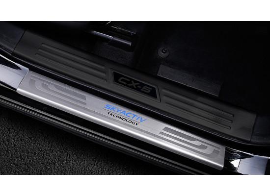 Накладки на пороги для Mazda CX-5