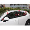 Хромированные накладки на окна для Mazda CX-5 2017-н.в. (фото)