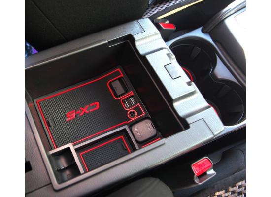 Ящик для мелочи в подлокотник для Mazda CX-5 2017-н.в. (фото)