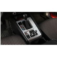 Накладка на консоль КПП для Mazda CX-5 2017-н.в. (фото)