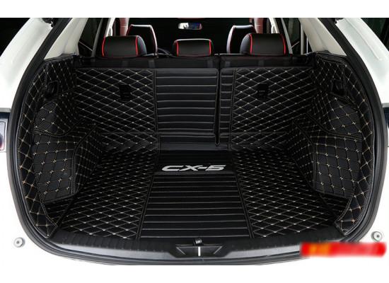 Кожаная обивка багажника для Mazda CX-5 2017-н.в. Вариант 2