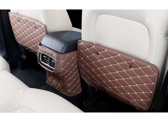 Кожаные защитные накладки на спинки передних сидений для Mazda CX-5 2017-н.в.