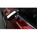 Хромированные козырьки на зеркала для Mazda CX-5 2017-н.в.
