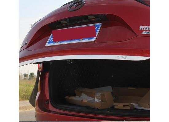 Хромированная накладка на кромку двери багажника для Mazda CX-5 2017-н.в. (фото)