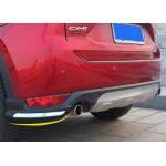 Накладки на передний и задний бамперы для Mazda CX-5 2017-н.в.