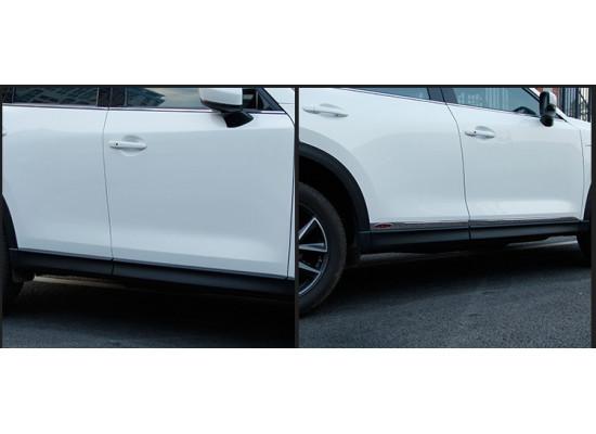 Накладки на двери для Mazda CX-5 2017-н.в. Вариант 1