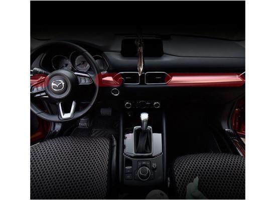 Накладки на панель для Mazda CX-5 2017-н.в. (фото)