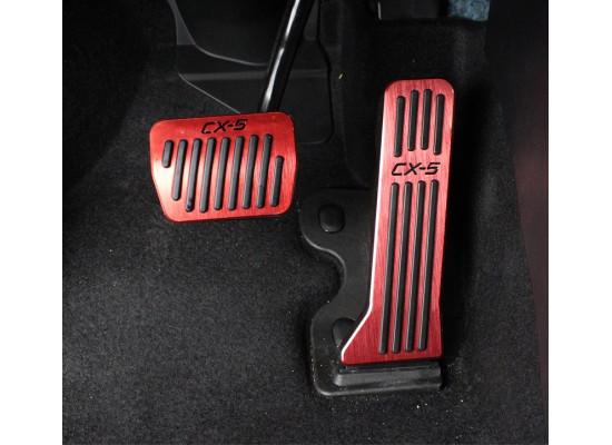 Накладки на педали для Mazda CX-5 2017-н.в. (фото)