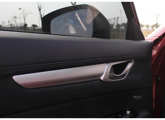 Накладки на внутренние ручки дверей для Mazda CX-5 2017-н.в. (фото)