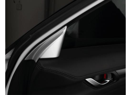 Накладки в угол двери для Mazda CX-5 2017-н.в. (фото)