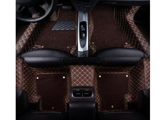 Кожаные коврики для Mercedes-Benz GLC Рестайлинг 2019-н.в.