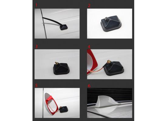 Антенна плавник для Mitsubishi ASX 2012-н.в.
