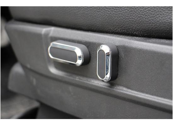 Хромированные насадки на регуляторы кресла для Mitsubishi ASX 2012-н.в.