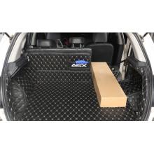 Кожаная обивка багажника для Mitsubishi ASX 2012-н.в. (фото)