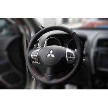 Кожаная оплетка руля для Mitsubishi ASX 2012-н.в. (фото)