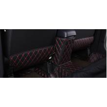 Кожаные защитные накладки на спинки передних сидений для Mitsubishi ASX 2012-н.в. (фото)