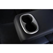 Накладка на подстаканники в заднем подлокотнике для Mitsubishi ASX 2012-н.в. (фото)