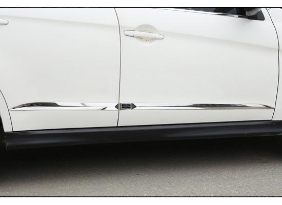 Накладки на двери для Mitsubishi ASX 2012-н.в. (фото)