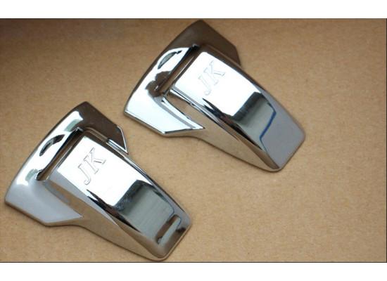 Хромированные накладки на форсунки омывателя для Mitsubishi ASX 2012-н.в. (фото)