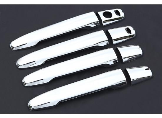 Накладки на ручки дверей для Mitsubishi ASX 2012-н.в.