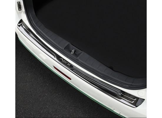 Накладки на задний бампер для Mitsubishi ASX 2012-н.в. (фото)
