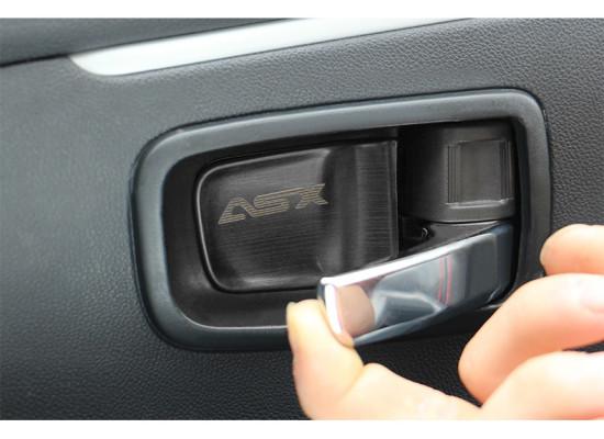 Накладки внутрь внутренних ручек дверей для Mitsubishi ASX 2012-н.в. (фото)