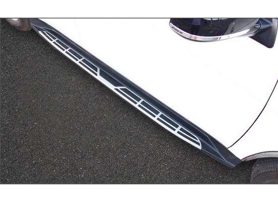 Пороги для Mitsubishi ASX 2012-н.в. (фото)