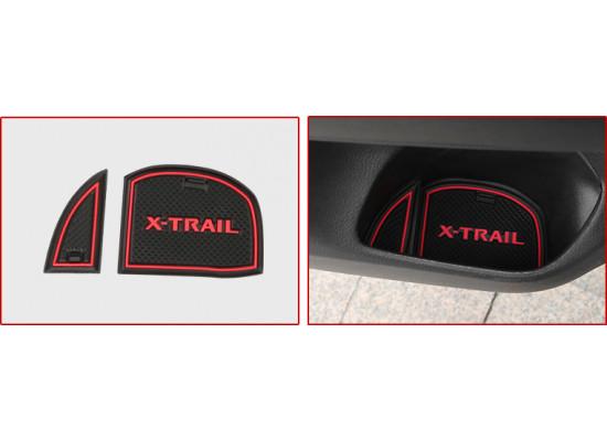 Антискользящие коврики в салон для Nissan X-Trail 3 Рестайлинг 2017-н.в