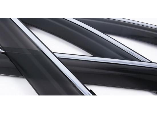 Дефлекторы окон для Nissan X-Trail 3 Рестайлинг 2017-н.в