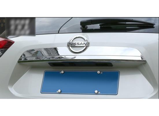 Хромированная накладка на багажник для Nissan X-Trail 3 2013-н.в.