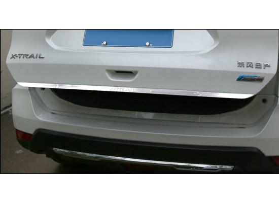 Хромированная накладка на кромку багажника для Nissan X-Trail 3 2013-н.в.