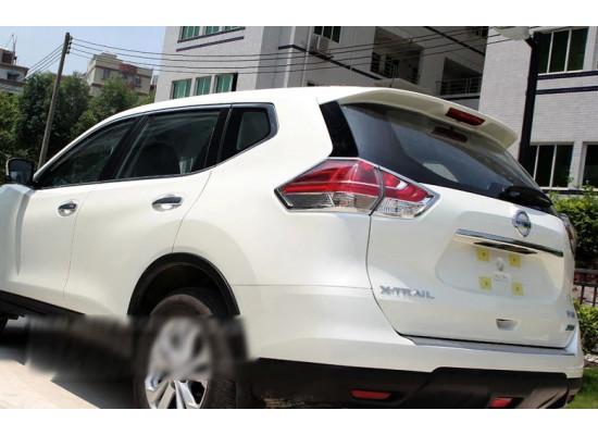 Хромированные накладки на задние фонари для Nissan X-Trail 3 Дорестайлинг и Рестайлинг 2013-н.в.