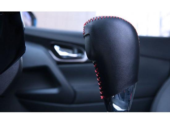 Оплетка ручки КПП для Nissan X-Trail 3 2013-н.в.