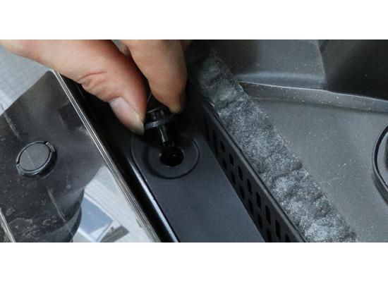 Защитная решетка забора воздуха для Nissan X-Trail 3 2013-н.в.