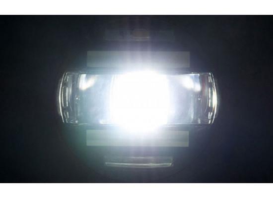 Светодиодные ПТФ с линзой и ДХО Toyota-Lexus