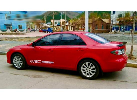 Спойлер для Mazda 6 2005-08 Вариант 1
