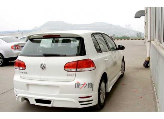 Спойлер для Volkswagen Golf 6 2008-12 Вариант 2