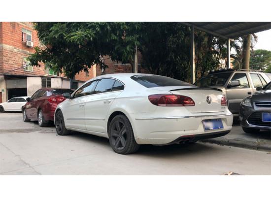 Спойлер для Volkswagen Passat CC 1 Рестайлинг 2012-17