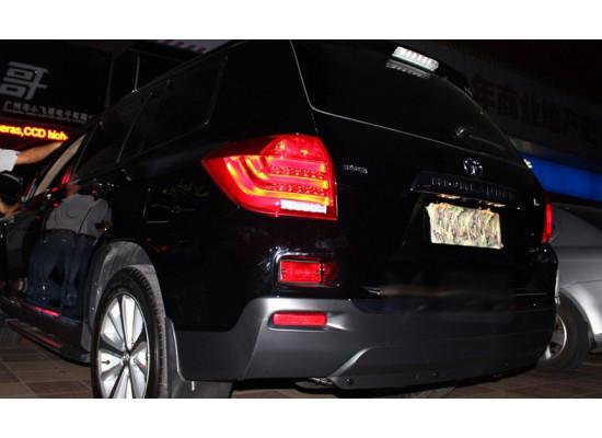 Задние фонари для Toyota Highlander 2010-13. Вариант 2 (фото)
