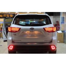 Задние фонари для Toyota Highlander 3 2013-16. Вариант 1 (фото)