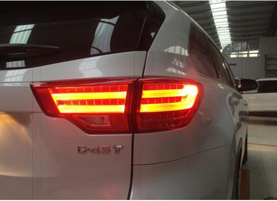 Задние фонари для Toyota Highlander 3 2013-16. Вариант 2